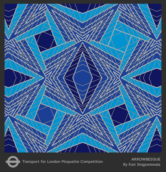 Arrowbesque transport for london moquette karl for London underground moquette